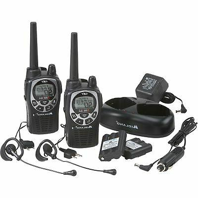 Midland Handheld GMRS Two Way Radio Pair - 36-Mile Range, Wa