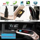 Hands-free Car FM Transmitter Bluetooth LCD MP3 Player Radio