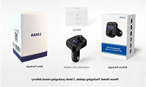 Handsfree Car Bluetooth FM USB for All Smartphones,Samsung Galaxy,LG,HTC,etc.