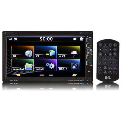 "7""Car Stereo DVD Player Touch Screen For Apple"