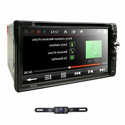 HD Sony Double 2Din DVD CD MP3 Mic