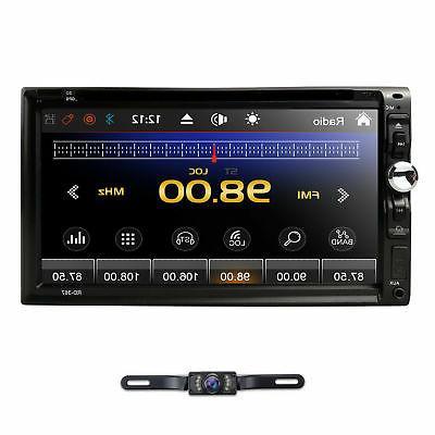 HD 2Din DVD DTV Bluetooth CD MP3 Mic