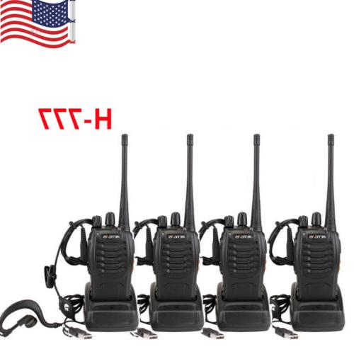 hot sale 4pcs h777 walkie talkie uhf