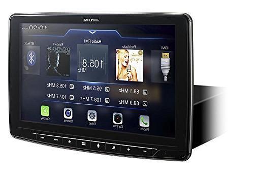 Alpine iLX-F309 AM/FM/audio/video Receiver w/ 9-inch Touch Mech-less Design