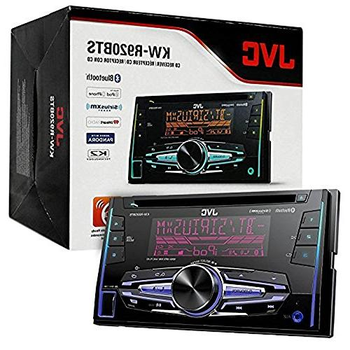 JVC Bluetooth CD Player Stereo With Metra Dash Kit + Wiring Radio & Handset 2003-08