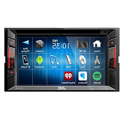 JVC BT Car Stereo w/Touchscreen with Metra 2DIN Select & Pyle PLCM22IR Rear Lux Night Vision