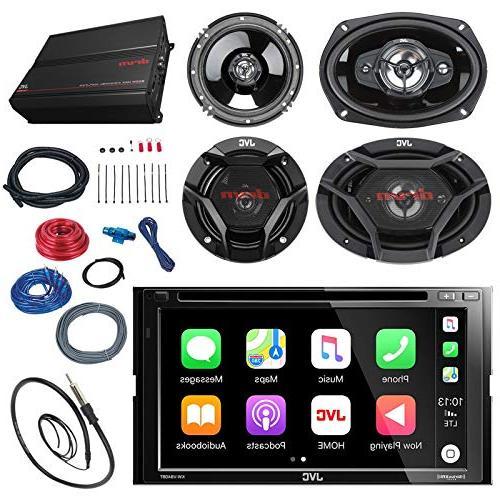 jvc kwv420bt touch car cd