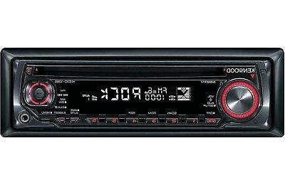 Kenwood CD Car Stereo with Front