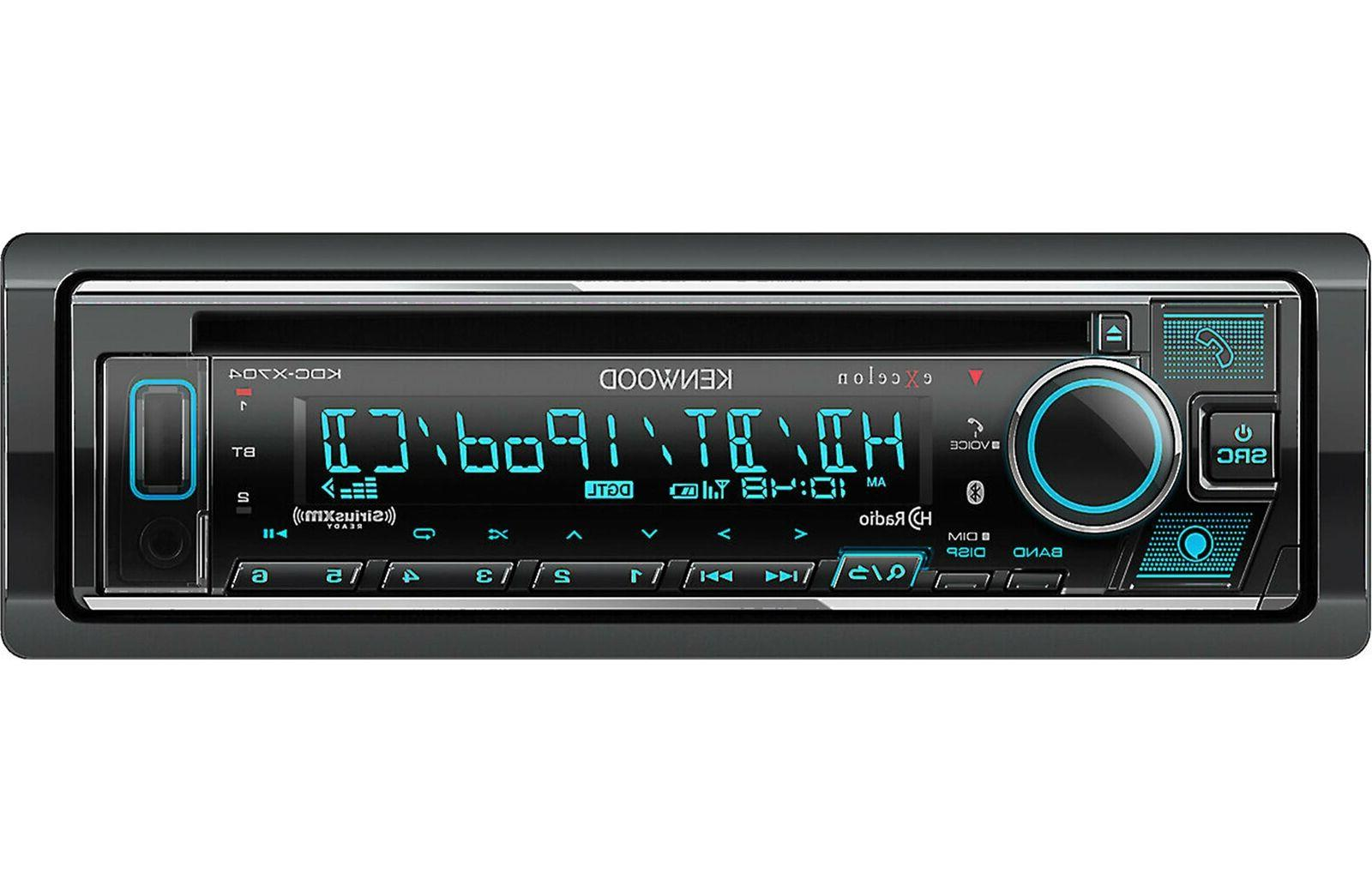 kdc x704 cd player w bluetooth alexa