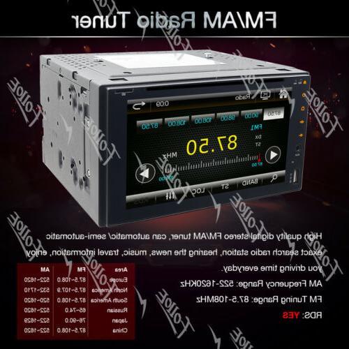 "6.2""Double 2Din Car Stereo MP3 USB SD NO GPS"