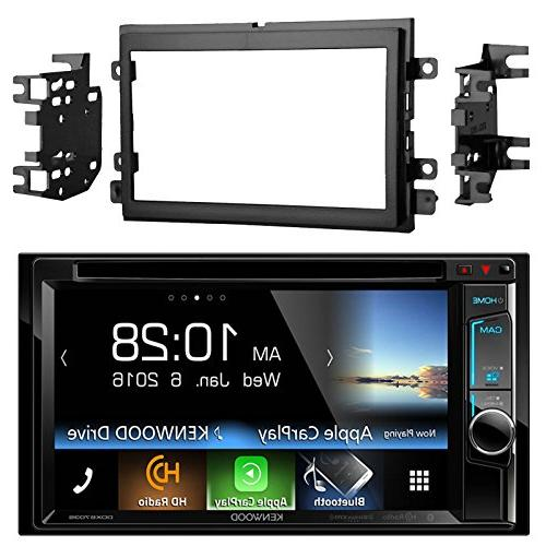 "Kenwood DDX6703S 6.2"" Touchscreen Player Receiver with Bundle Metra 95-5812 Installation Kit for Up Ford Vehicles"