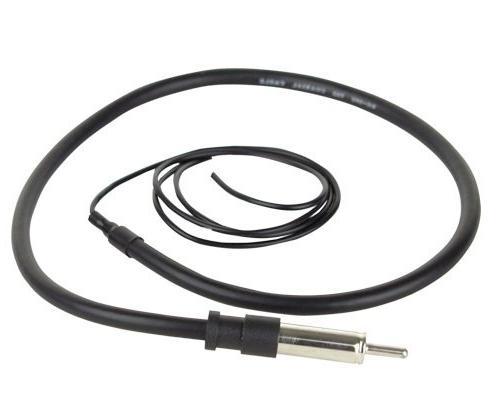 JVC Display USB Bundle Combo With License Plate Enrock AM/FM Antenna