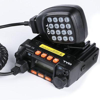 HYS 25W Dual Band 144//480MHz Two Way Radio Mobile Transceiver /& Antenna Adaptor