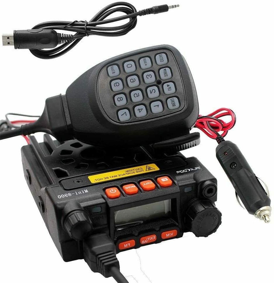 QYT KT-8900 25W Mini mobile Radio Dual band 136-174&400-480M