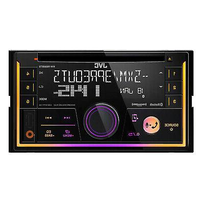 Car Stereo CD Player w/Bluetooth/USB/iPhone/Sirius
