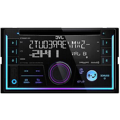 JVC Car Stereo CD w/Bluetooth/USB/iPhone/Sirius