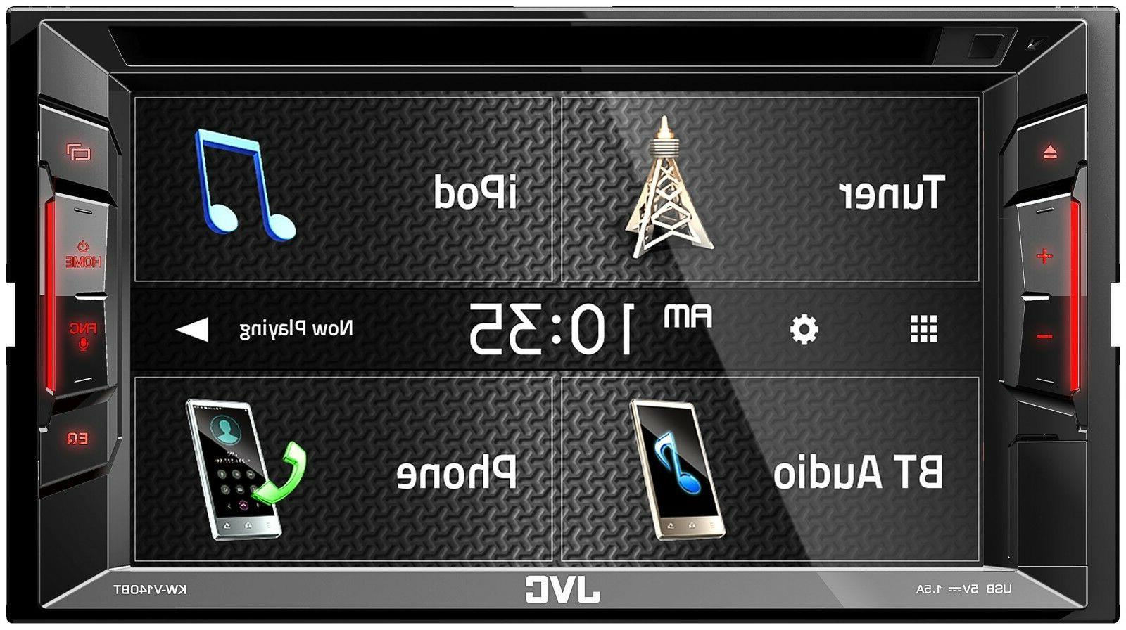 JVC KW-V140BT 2 In-Dash Stereo TITAN 2007