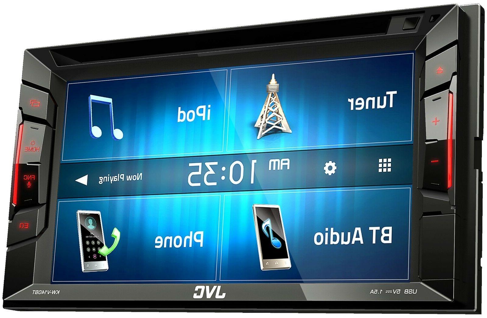 JVC KW-V140BT In-Dash DVD/CD/AM/FM TITAN ARMADA - 2007