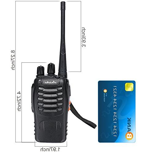 Ansoko Long Talkie FRS/GMRS 16-Channel Handheld with