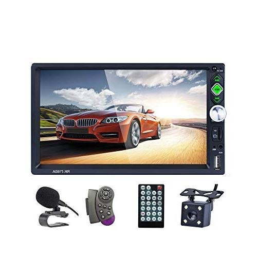 lslya bluetooth car stereo touch