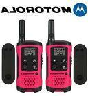 Motorola Talkabout T107 Walkie Talkie 2 Pack Set 16 Mile Two