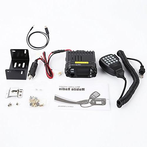 HESENATE x Mini Dual VHF: 136-174/UHF: Way Radio