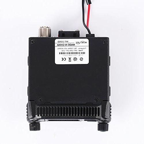 HESENATE MT-225D Mini Dual Band VHF: 400-520MHz Way Radio Amateur
