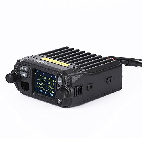 HESENATE MT-225D QYT Mini Dual Band VHF: 400-520MHz Base Two Way