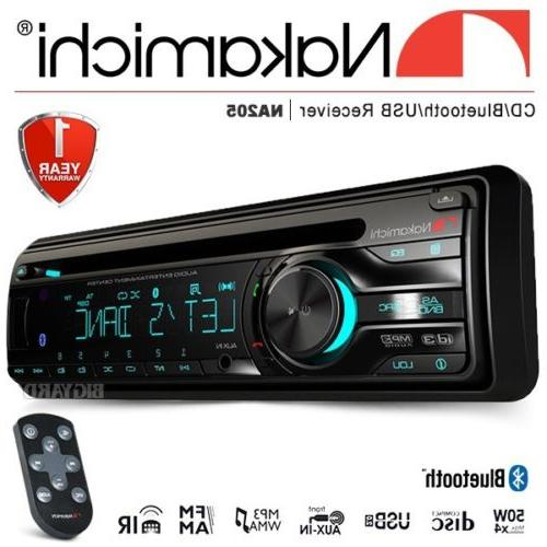 New Single DIN USB AUX Car Stereo Headunit
