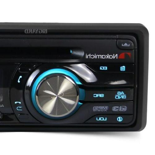 New NAKAMICHI NA205 Single CD AUX Car Headunit