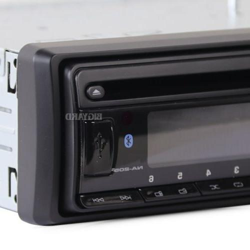 New Bluetooth Single AUX Radio Stereo Headunit