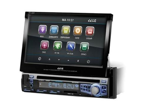"New Boss BV9976B 7"" Touchscreen In-Dash DVD/MP3/CD Car Audio"