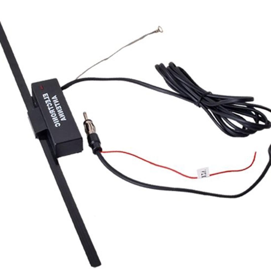 <font><b>Car</b></font> <font><b>Antenna</b></font> Electronic FM/AM Windshield Black