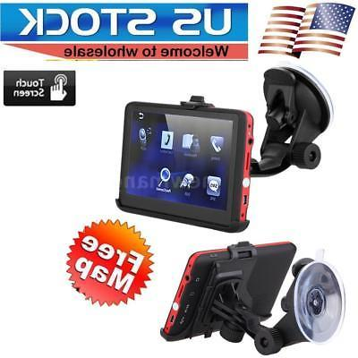 Portable Bluetooth Vehicle GPS Car Radio In-Dash Navigation