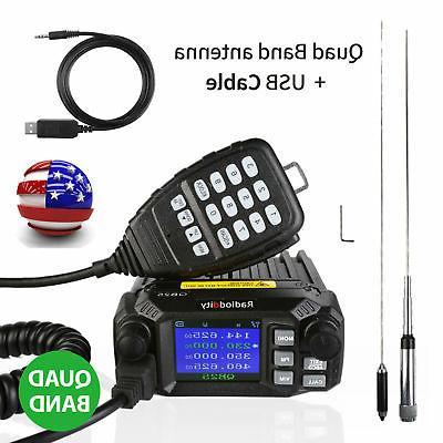 qb25 pro car mobile radio transceiver vhf
