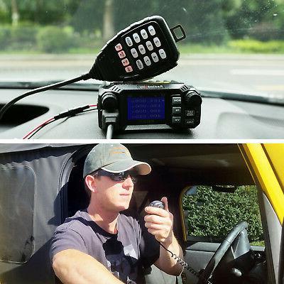Radioddity QB25 Mobile Radio Transceiver Quad