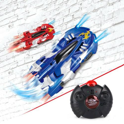 Radio Car Wall Climbing Racer Kids Gift Toy