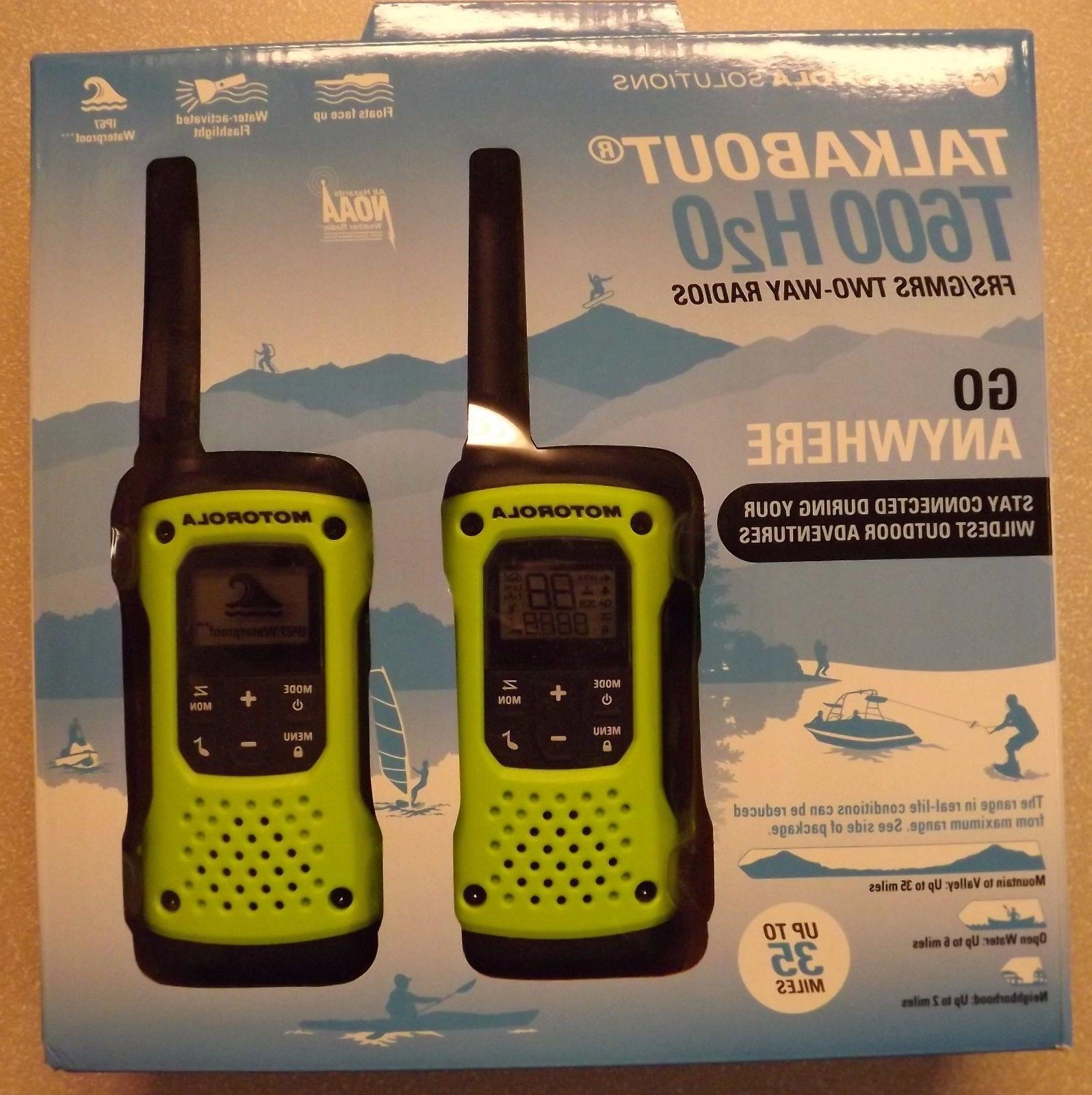 35 Mile Waterproof Radios