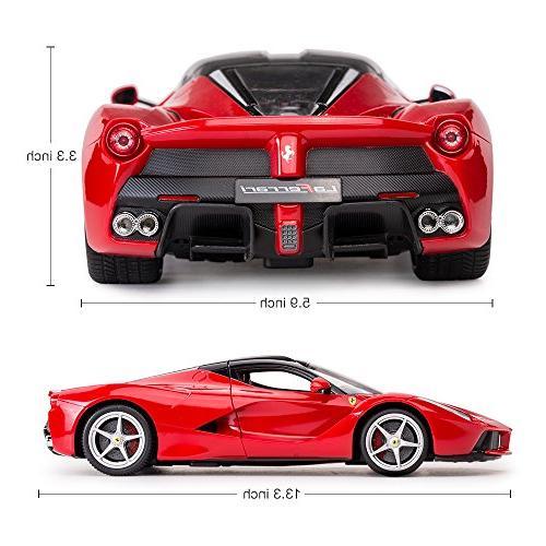 Rastar R/C 1:14 Ferrari LaFerrari Officially Radio Remote Racing Car Red