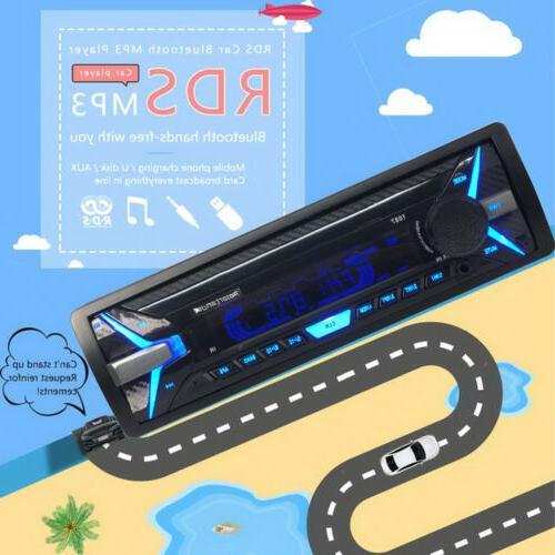 RDS Car 12V Bluetooth USB FM AM Player FM