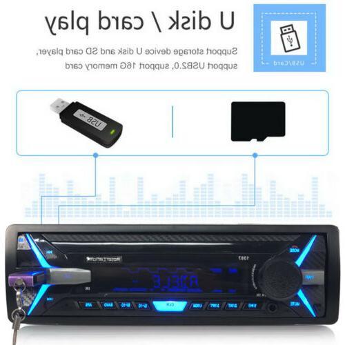 RDS Car Radio Bluetooth MP3 FM Player FM