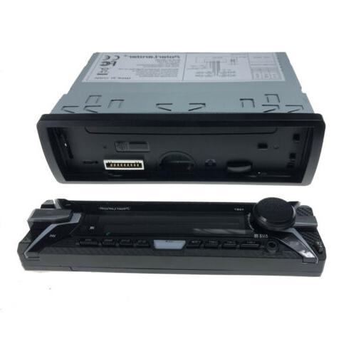 RDS Radio Bluetooth MP3 FM AM Player Kit 1Din