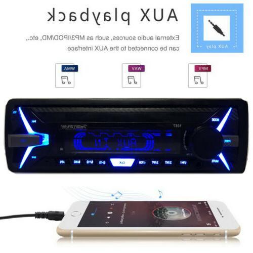 RDS Radio 12V FM AM AUX Player Audio Kit FM