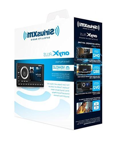 SiriusXM SXPL1V1 Onyx Plus Satellite Radio Kit With Months Satellite Streaming Service