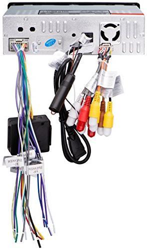 Sound Storm Din, AM/FM Car Stereo, 7 Inch Digital Monitor, Detachable