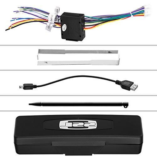 Sound SD726MB Din, Bluetooth, AM/FM Inch Digital Monitor, Detachable Front