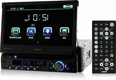 Sound Din, Bluetooth, AM/FM Stereo, Inch Digital Detachable Panel