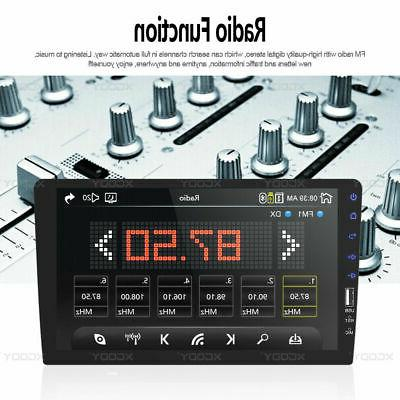 """Single 1 9"""" Touch Screen Stereo Radio BT In-Dash"""