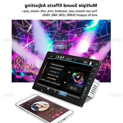"Single 1 Din 9"" Car FM USB AUX Player Screen Radio"