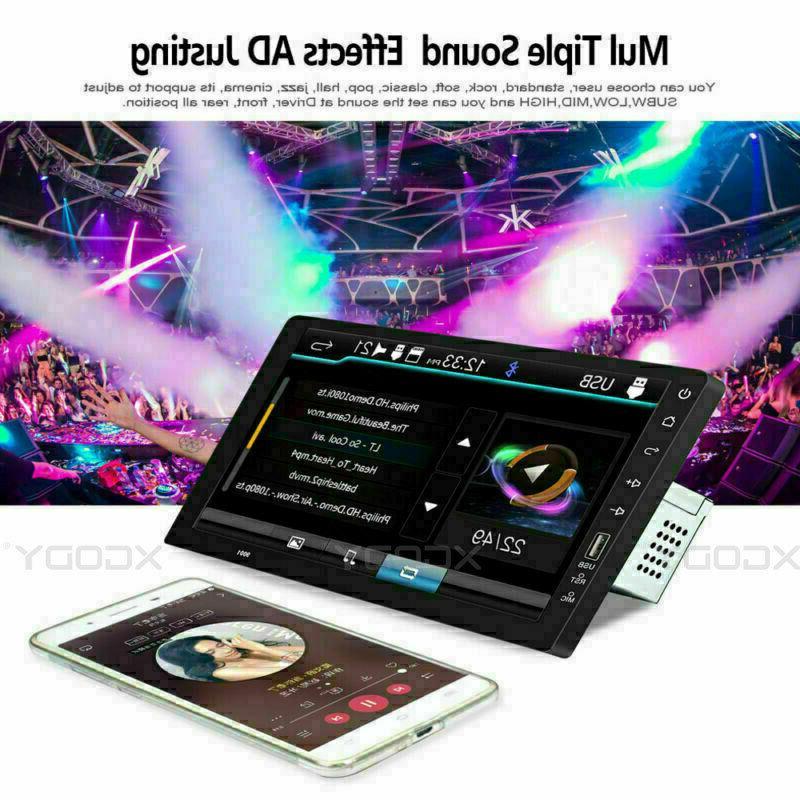 Single Car FM/USB/AUX Player Touch